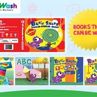 4wii washwashable book