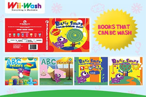 WII Wash Washable Book