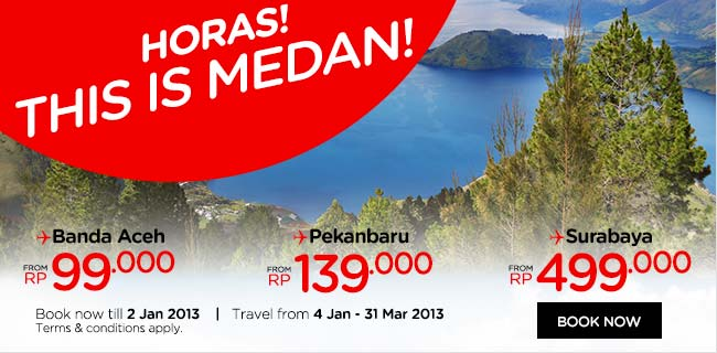 Promo Tiket Pesawat Maskapai Penerbangan AirAsia