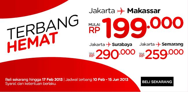 Promo Tarif Murah Tiket Pesawat AirAsia