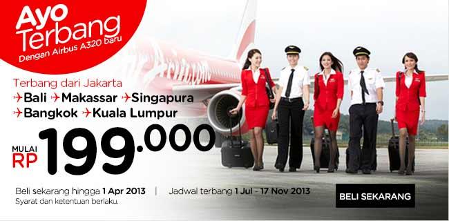 Jadwal Penerbangan AirAsia 2013