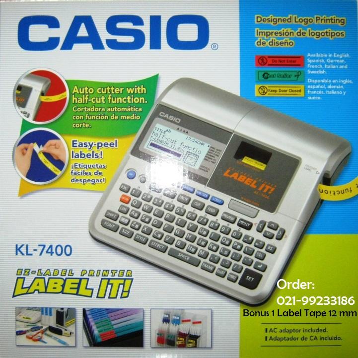Promo Label Printer Casio