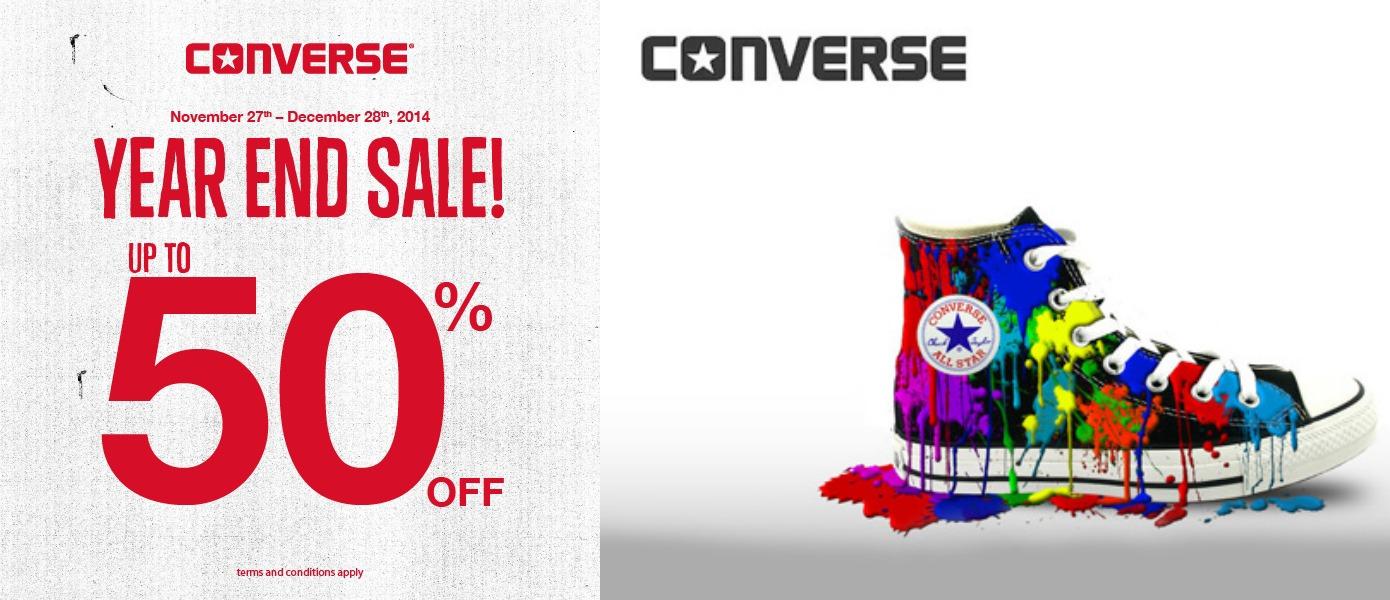 Converse Diskon Akhir Tahun Hingga 50%