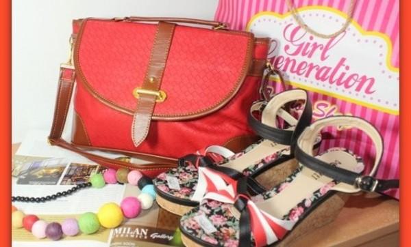 Paket Hemat Tas, Dompet dan Sepatu dengan Harga Reseller