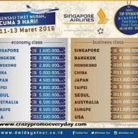 promo tiket pesawat murah singapore airlines