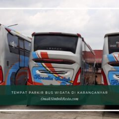 Restoran dengan Tempat Pakir Bus Wisata di Karanganyar